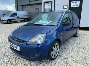Ford Fiesta Sport 2008 58 Reg, Main Dealer PX, Price to Sell, Very Cheap Van