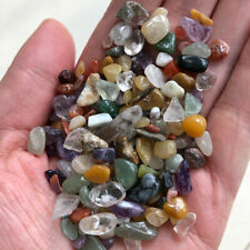 100g Colorful Natural Crystal Assorted Bulk Tumbled Gem Stone Healing Chip Decor