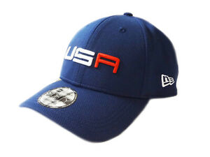 NEW 2020 New Era 9Forty USA Ryder Cup Saturday Round Blue Adjustable Hat/Cap