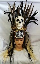 Swamp Voodoo Headdress Halloween Costume Halloween Prop Costume Accessory