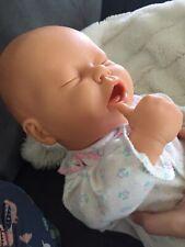 Berjusa Bejusa 21� Sleeping Thumb Sucking Doll Girl Full Vinyl anatomic Correct