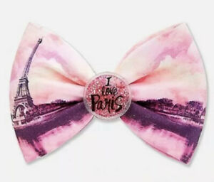 Justice I Love  Paris Hair Bow New