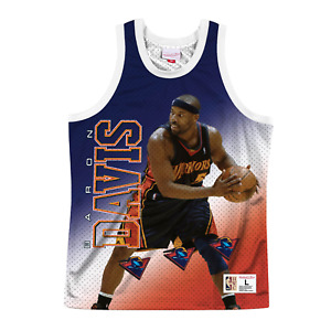 Mens Mitchell & Ness White NBA Baron Davis Behind The Back Tank