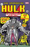 Immortal Hulk 16 Matthew Waite Incredible 1 16 Bit Homage Variant Video Game