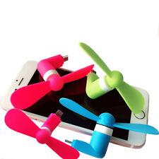 Portable Mini Fans Cool USB Electric Fan Phone Cooler For iphone 8 7 6 6S Plus