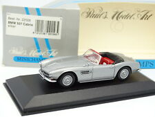Minichamps 1/43 - BMW 507 Cabrio Silber