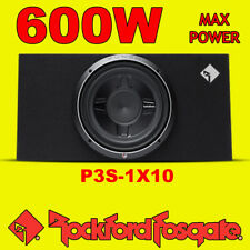 "Rockford Fosgate 10"" pollici PUNCH 600 W CAR AUDIO SUBWOOFER Sub Enclosure poco profonde"