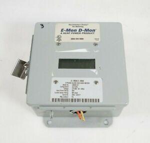 E-MON D-MON KWH 480800D Kilowatt Demand Meter
