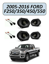 FORD F-250/350/450/550 2005-2016 Factory Speakers Replacement Kit, KENWOOD