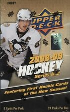 2009-10 Upper Deck Hockey Series 1 HOBBY Box Young Gun Auto Rookie Patch Jersey?