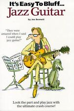 It's Easy To Bluff Jazz Guitar Learn to Play Beginner Lesson TAB Music Book