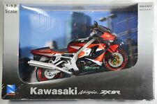 New in Box NewRay Kawasaki Ninja ZX-9R 1:12 Diecast Motorcycle Red Black Rare