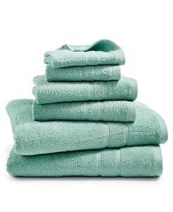 Martha Stewart Essentials 100% Cotton 6-Pc. Towel Set - Mint