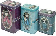 Gorjuss Set 3 Boxes Square Tin