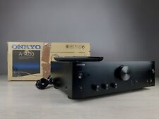 ONKYO A-9030 Integrated Amplifier in Black Finish. Boxed. 99p NR