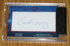 Carlos May Tristar Signa Cuts Bronx Autograph Auto #1/5 - New York Yankees
