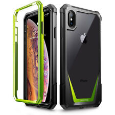 """Poetic Guardian """"Rugged Heavy Duty"""" Case For Apple iPhone XS Max 6.5"""" Green"""