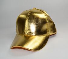 Cool Hoja De Oro Oro Brillante Gorra de béisbol