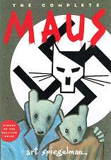 ART SPIEGELMAN The Complete MAUS Pulitzer Preis Comic englisch graphic novel SC