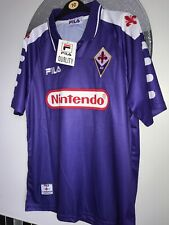 FIORENTINA BATISTUTA 1998 1999 RETRO FOOTBALL SHIRT Medium/large*SEE DESCRIPTION