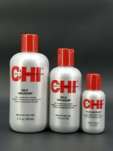 CHI Silk Infusion Reconstructing Complex 2oz or 6oz or 12oz Choose Yours >>>
