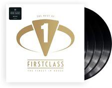 """Various Artists """"firstclass-finest in house"""" Vinyl 4LP 2018 NEU 45 House Classis"""