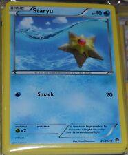 Staryu # 25/122 XY Breakpoint Set Pokemon Trading Cards Break Point MINT