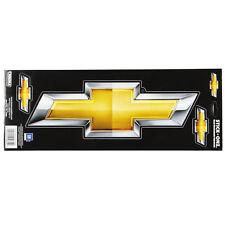 Original GM Chevy Chevrolet Bowtie Logo US Car Aufkleber Decal Sticker Groß NEU
