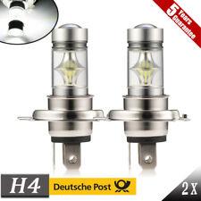 2X H4 HB2 9003 LED NebelScheinwerfer DRL Fern-/ Abblendlicht Lampen Weiß