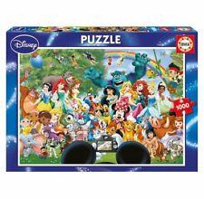 MARVELLOUS WORLD of DISNEY II 1000 pieces PUZZLE Disney Princess Family