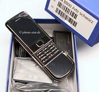 ORIGINAL NOKIA 8800 ARTE 1GB BLACK RM-233 HANDY MOBILE PHONE MADE KOREA NEU NEW