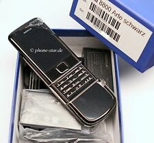 ORIGINALE Nokia 8800 arte 1gb BLACK rm-233 CELLULARE MOBILE PHONE MADE Corea NUOVO NEW
