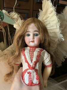 Antique Eden Bebe Doll From France 18 Inch W/original Clothes And Tag