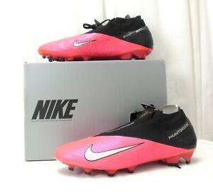 Nike Phantom Vision 2 Elite DF FG Fußballschuhe Rot Größe Wählbar