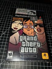 NEW PS2 GTA GRAND THEFT AUTO TRILOGY TRIPLE PACK III 3 + SAN ANDREAS + VICE CITY