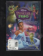 The Princess and the Frog (Dvd, 2010) Disney Factory Sealed Usa Reg 1