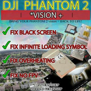 DJI Phantom 2 Vision plus WiFi Module Repair Service [UPGRADE] NAND Flash