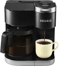 Keurig K-Duo 12-Cup Coffee Maker and Single Serve K-Cup Brewer - Black
