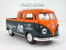 VW T1 (Type 2) Delivery Pickup Bus 1/34 Scale Diecast & Plastic Model - Orange