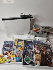 Nintendo Wii Konsole mit Controller + 4 Spielen | Gamecube fähig | getestet