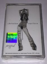 """Christina Aguilera """"Stripped"""" Cassette Tape Brand New Sealed OOP Britney Madonna"""