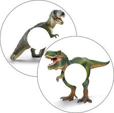 Silla de Ruedas Protectores de Radios Pegatinas Dinosaurio