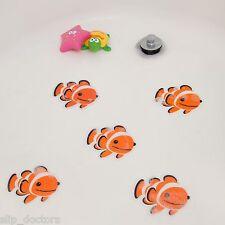 Bath Tub Shower Stickers - FISH Nemo Decals Treads Non Slip Applique Anti Skid