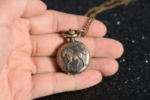 Dein Glück Tiere Chinesisch Zodiac Uhr Halskette, Geburtstag Weihnachts Geschenk