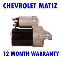 Chevrolet matiz spark 0.8 1.0 hatchback 2005 2006 - 2016 starter motor