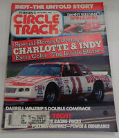 Circle Track Magazine Charlotte & Indy Darrell Waltrip September 1985 040317nonr