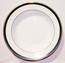 Royal Grafton Warwick Green Rimmed soup/cereal bowl 9'', 23.5 cm