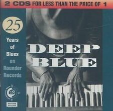 NEW Deep Blue: The Rounder 25th Anniversary Blues Anthology [2 CD] (Audio CD)