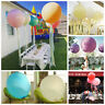 36'' Giant Large Latex Balloon Bouquet Pearl Helium Balloons Wedding Party Decor