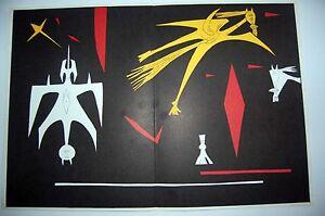 WILFREDO LAM - Litografia original DLM nº 52. 56 x 38 cm